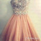 Amazing sweetheart rhinestone prom dresses,homecoming dresses - 24prom