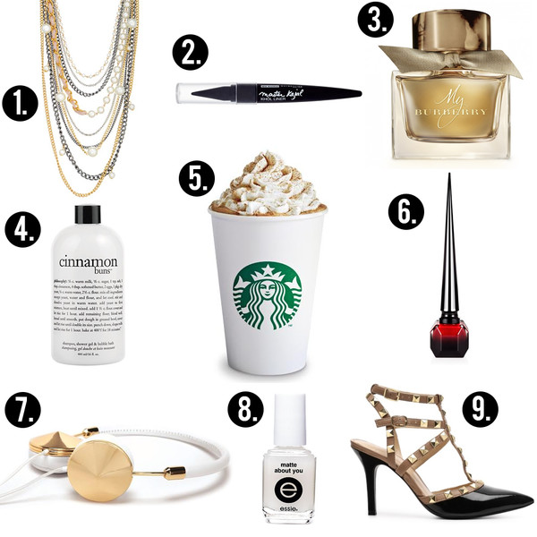 jewels starbucks coffee burberry nails cinnamon