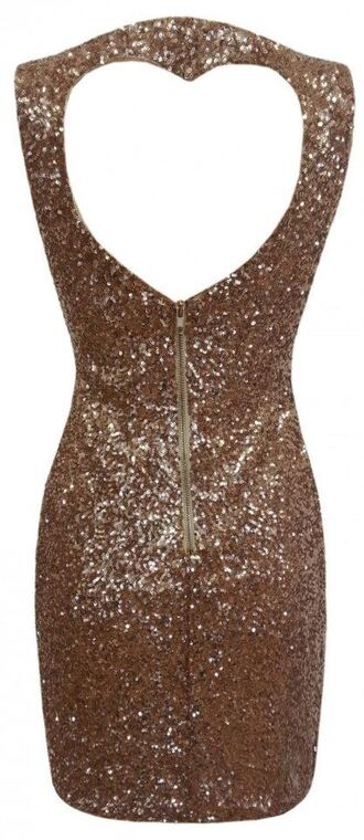 dress gold loveheart gold sequins party sexy boutique online fashion love heart prom dress sweet 16 dresses holiday dress