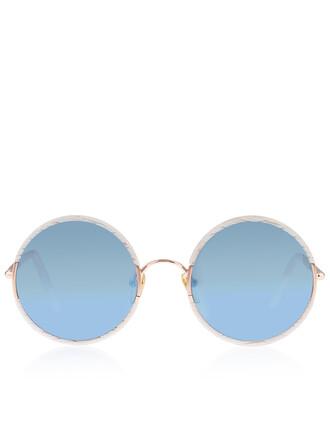 sunglasses mirrored sunglasses white