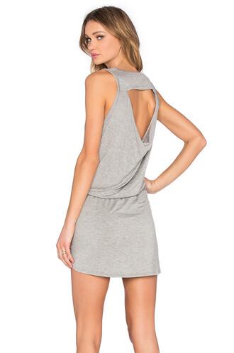 dress mini dress mini back drawstring