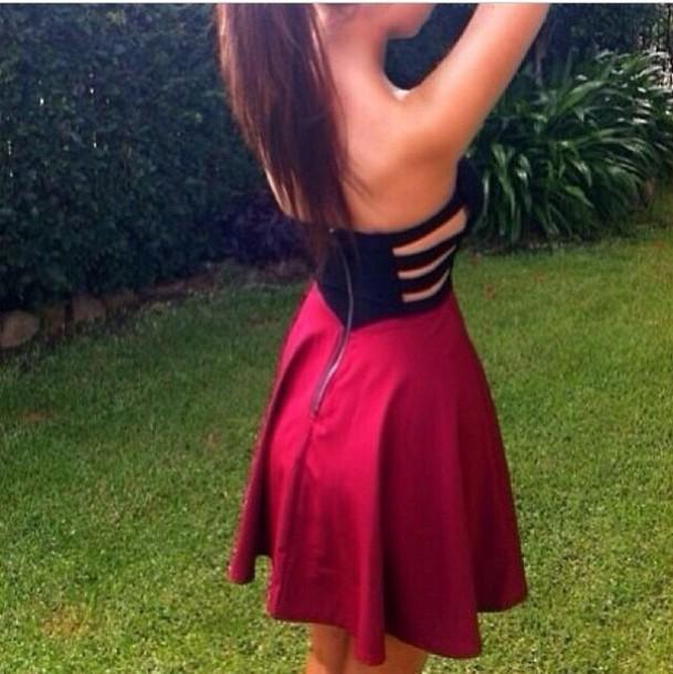 cute red dress girls - photo #17