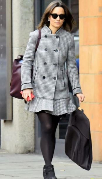 coat fall outfits streetstyle pippa middleton