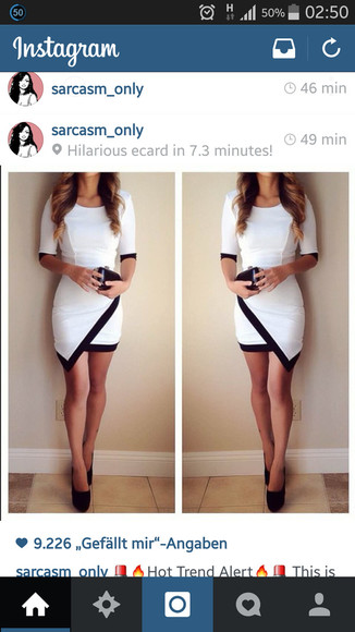 white black nice white dress black striped white dress striped dress short dress