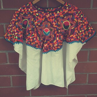 blouse mexican aztec mexican style mexican shirt mexican art mexican serape mexican print