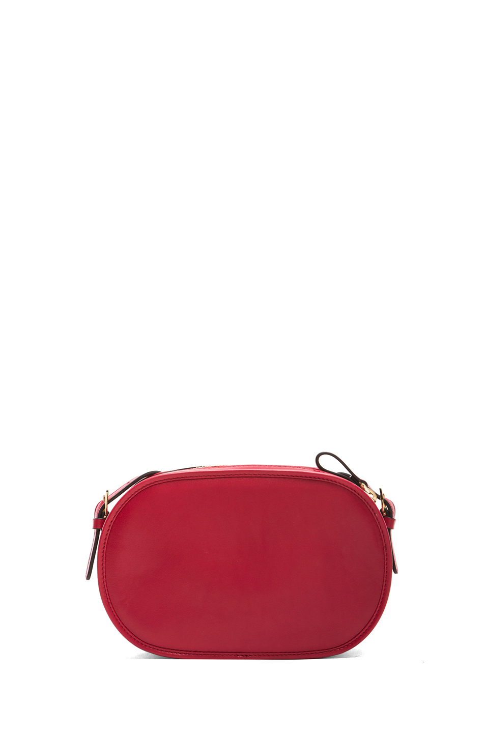 Valentino | Small Logo Go Cross Body Bag in Red