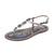 Sam Edelman Gigi Striped Sandals - Blue Multi