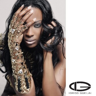 gloves idriss guelai atelier party luxury jewelry gold