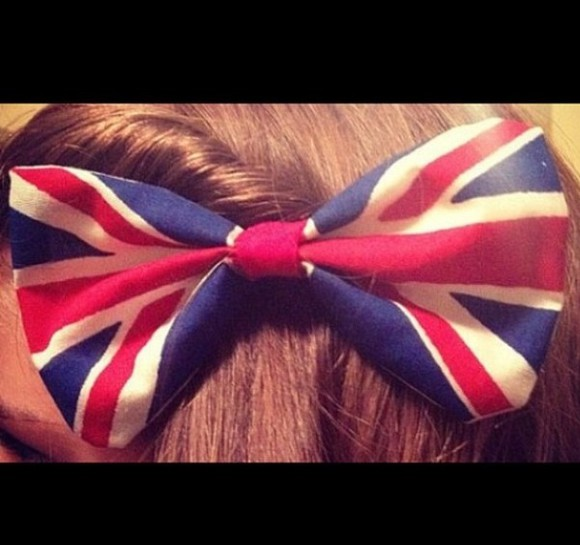union jack jewels bow