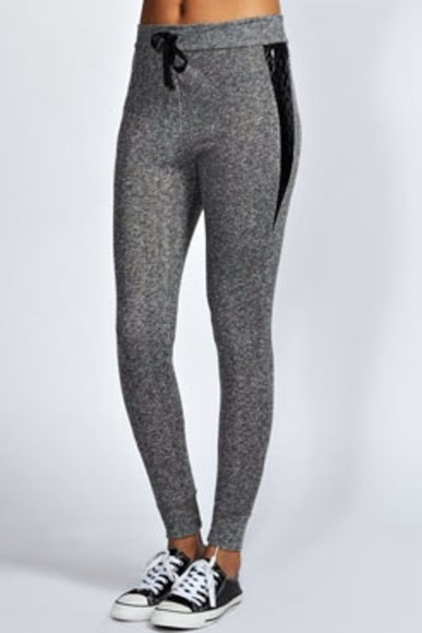 gris pants american apparel