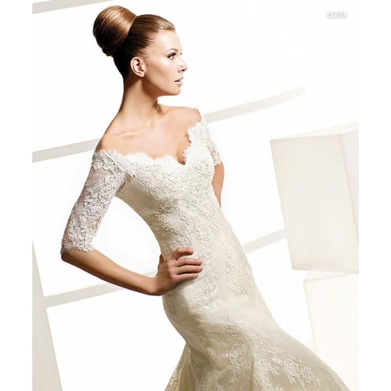 La Sposa Landa Bridal Gown (2010) (LS10_LandaBG) - Crazy Sale Formal Dresses Special Wedding Dresses Unique 2016 New Style Dresses