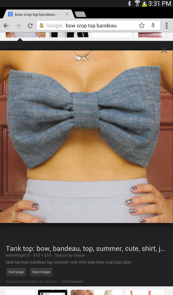 shirt white bow crop top