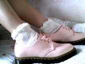 pink shoes,new,DrMartens,shoes
