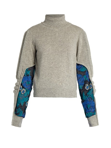 PREEN BY THORNTON BREGAZZI sweater grey