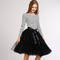 Aliexpress.com : buy pettiskirt midi tutu skirt 5 layers ballet tulle skirt american apparel tutu skirts womens petticoat ball gown faldas saia jupe from reliable midi tutu skirt suppliers on musheng co. ltd