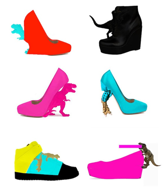 Awkward Collection T-Rex Heels/Shoes | So...This Is Jenny!