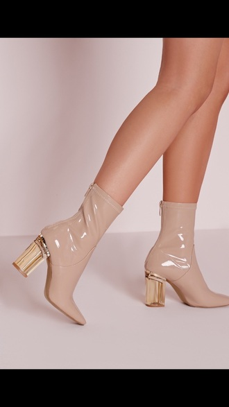 shoes heels high heels boots nude boots