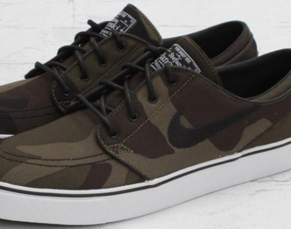 shoes army green nike nike sb