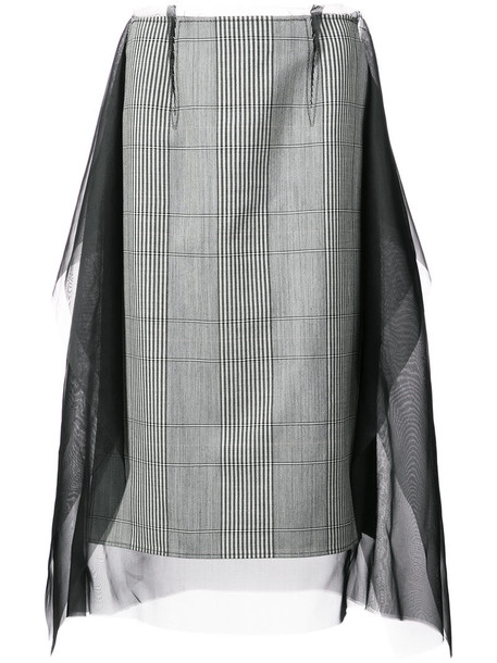 MAISON MARGIELA skirt long skirt long women silk wool
