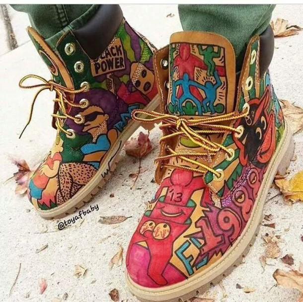 custom made timberland boots