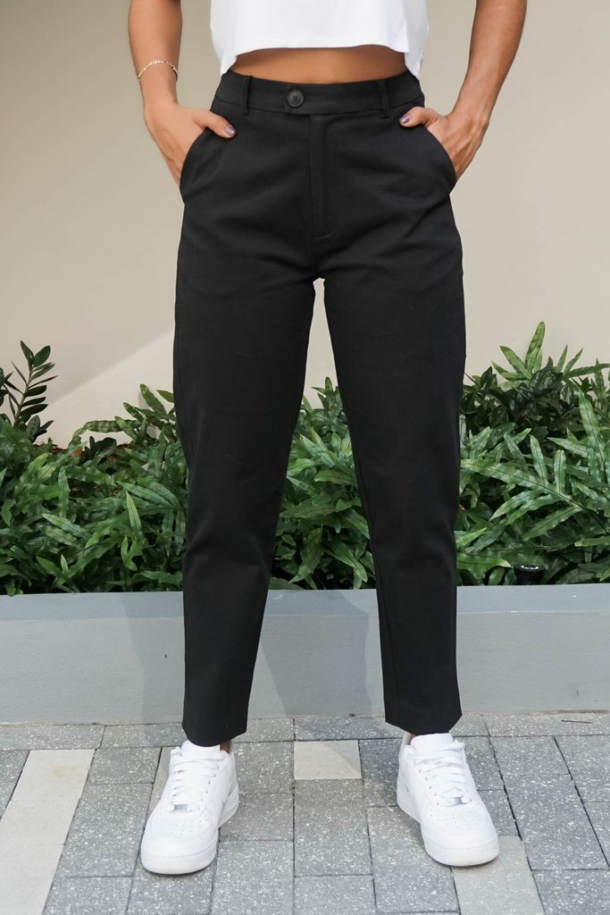 Mid Rise Ankle Pant