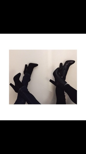 shoes high heels boots ankle boots