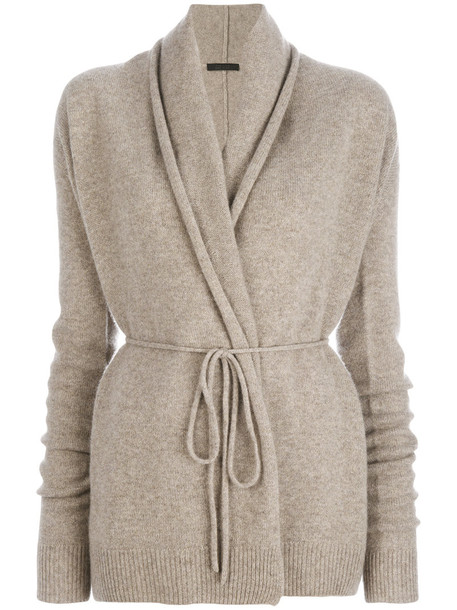 The Row cardigan cardigan women nude sweater