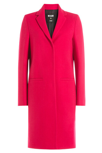 coat wool coat wool pink