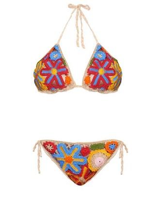 bikini crochet bikini floral crochet swimwear