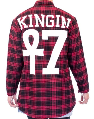 last kings tyga flannel shirt