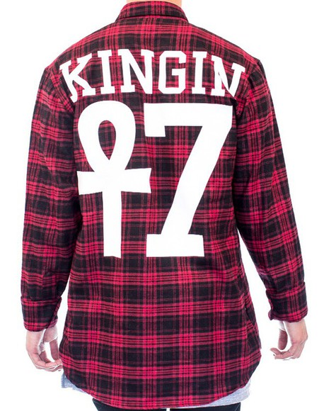 plaid shirt last kings tyga