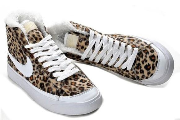 fourrure shoes blazers nike