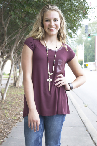 pockets blouse long fall collection shopsiloe burgundy other colors