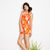 Tropical Print Dress — Bib   Tuck on Wanelo