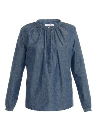 blouse light top