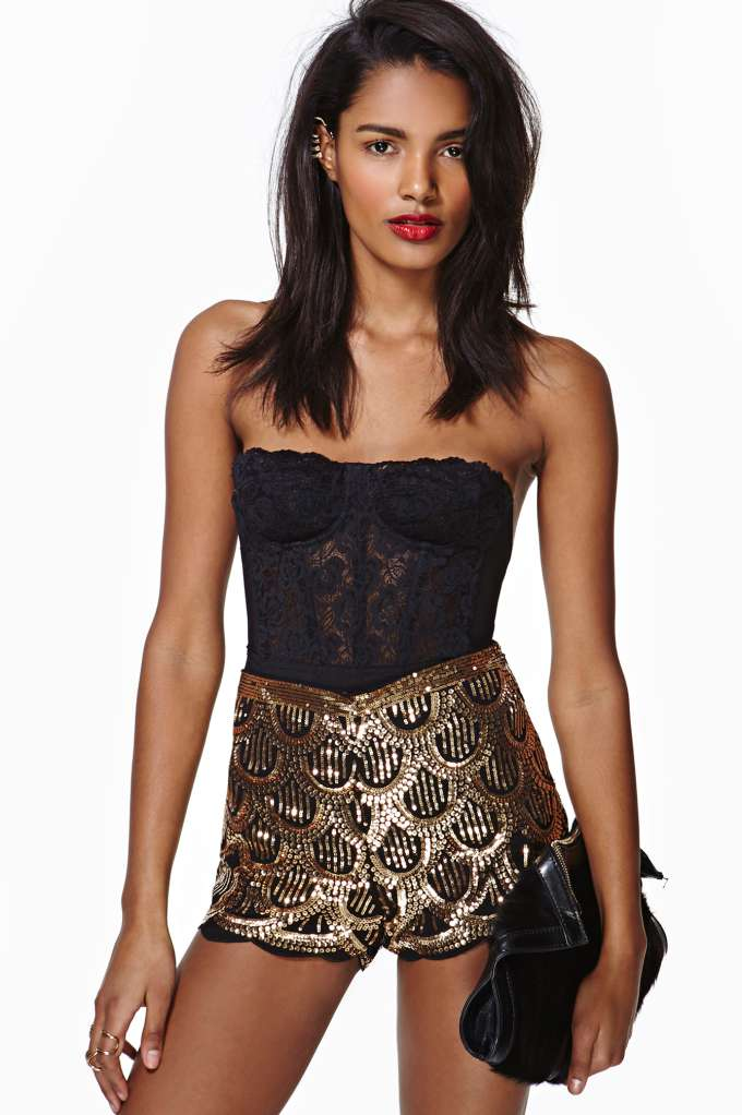 Deco Sequin Shorts | Shop Clothes at Nasty Gal