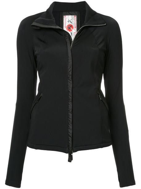 Kru jacket women black