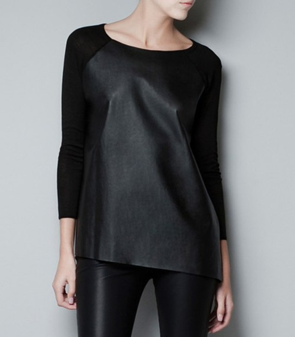 shirt leather leather shirt
