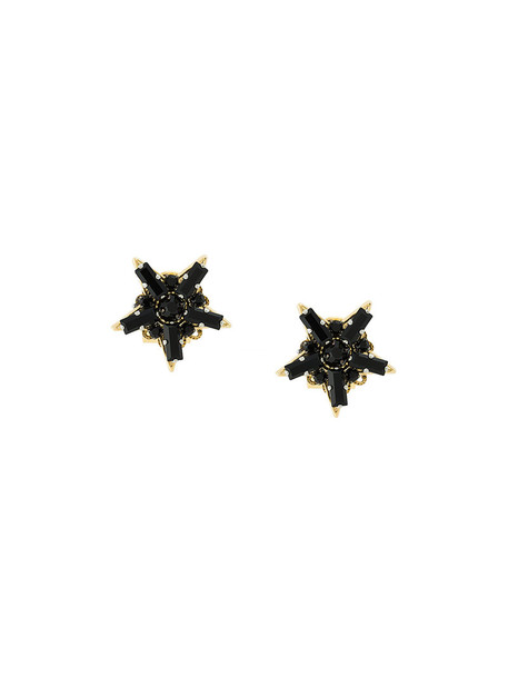 women earrings stud earrings black jewels