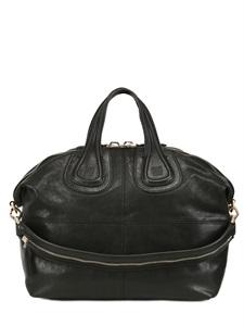 Medium nightingale nappa leather bag