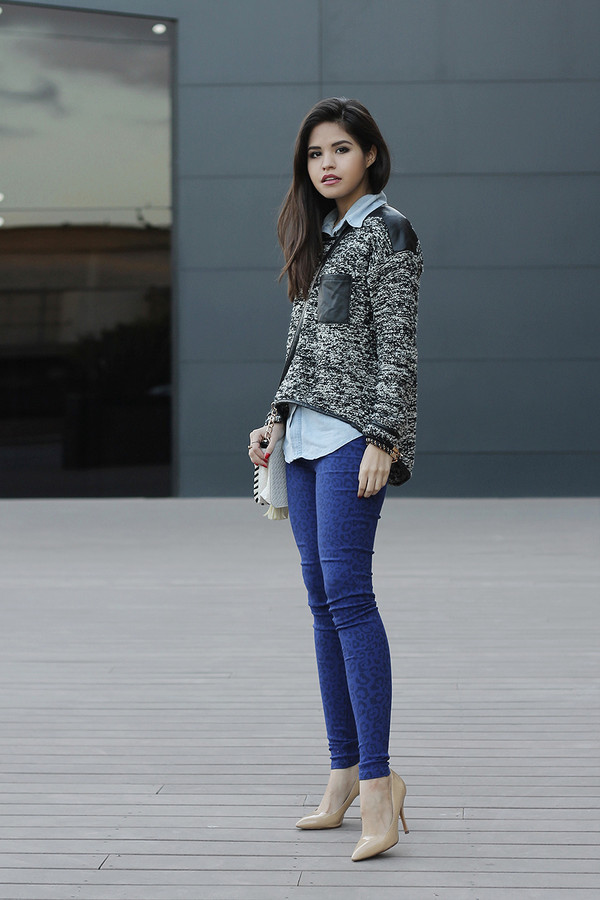 fake leather shirt sweater bag shoes jewels
