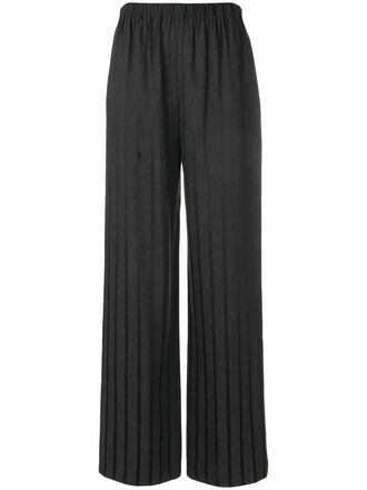 high women black pants