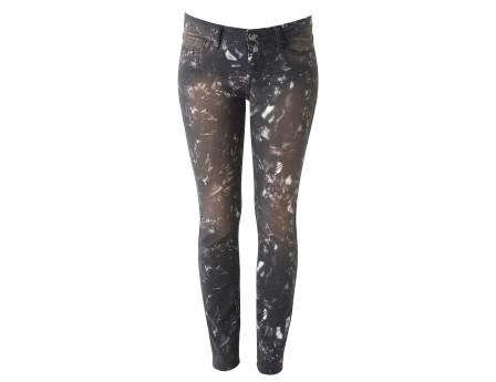 Reighton Jeans - Printed skinny jeans - Black - Jeans - Women - IRO