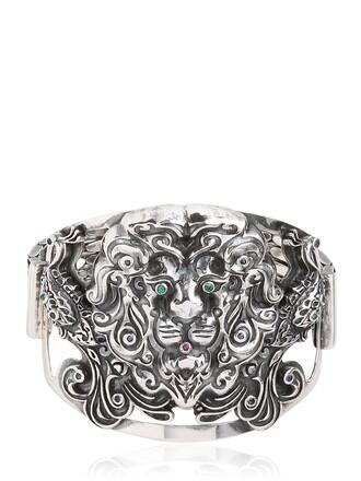 lion silver jewels