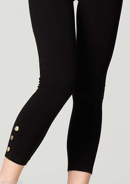 942362e03 leggings style fashion buttons cute