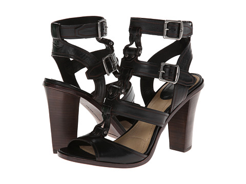 Frye Sonia Y Strap Gladiator Black Soft Full Grain - Zappos.com Free Shipping BOTH Ways