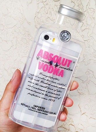phone cover phone iphone iphone case abolut vodka case cute cases cute bottle case bottle cover iphone cover