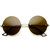 European Retro Frameless Round Fashion Sunglasses 8912                           | zeroUV