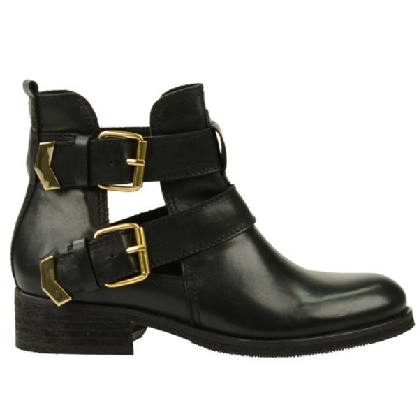 shoes fashion cut-out boots