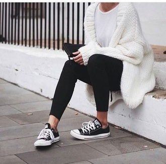 sweater white fluffy comfy loose fit sweater